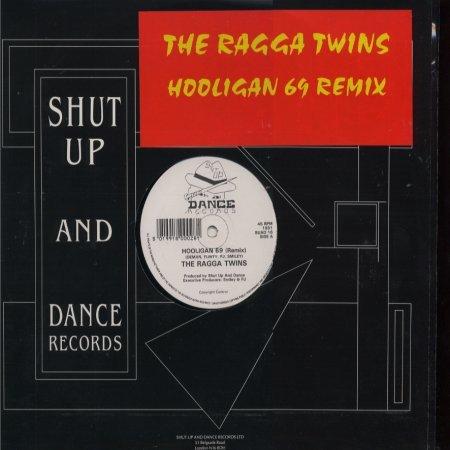 "The Ragga Twins Hooligan 69 Remix 12"""" Single"