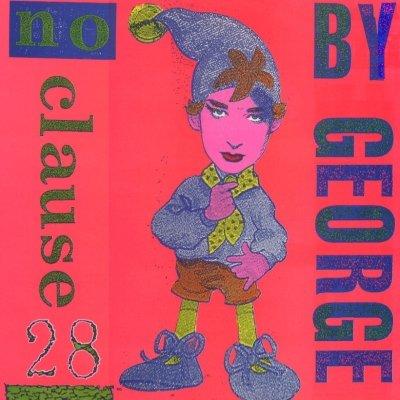 "Boy George No Clause 28 12"""" Single"