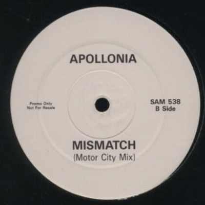 "Apollonia Mismatch Promo12"""" Single"