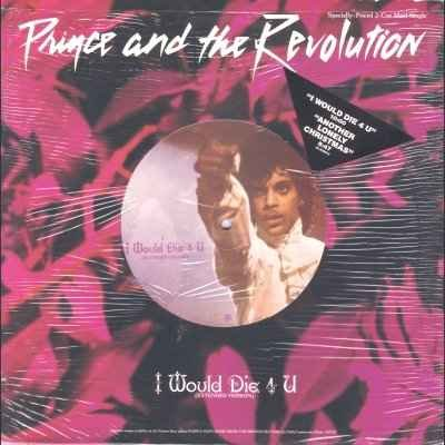 Prince and The Revolution I Would Die 4 U 12""""