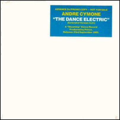 "Andre Cymone The Dance Electric Promo12"""" Sing"