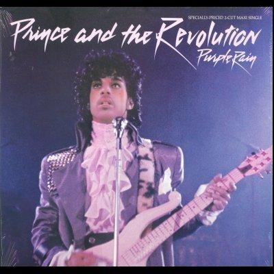"Prince and The Revolution Purple Rain 12"""" Sin"