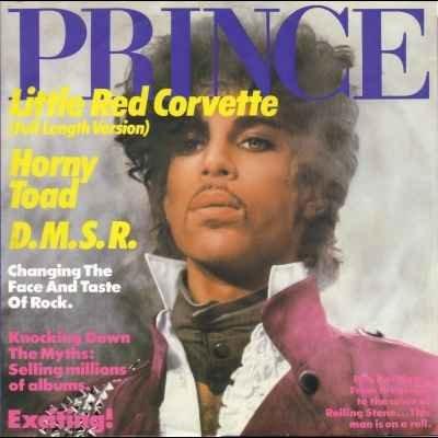 "Prince Little Red Corvette 12"""" Single"
