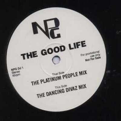 "NPG The Good Life Promo12"""" Single"