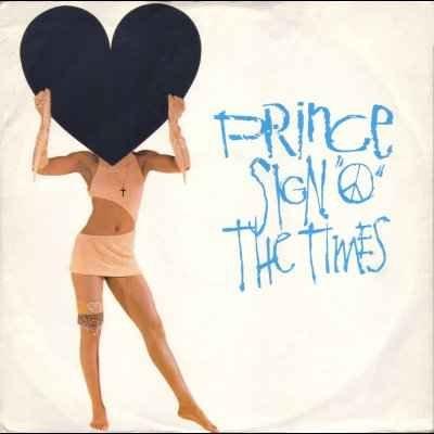 """Prince Sign 'o' The Times 12"""""""" Single"""