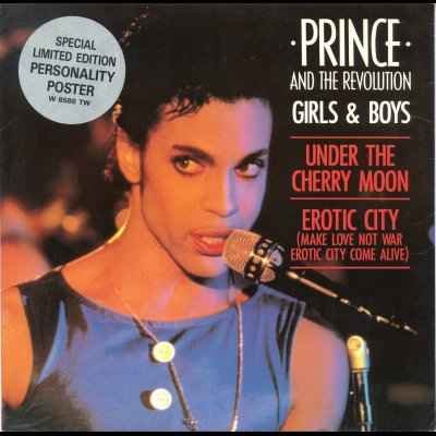 Prince and The Revolution Girls & Boys + Post