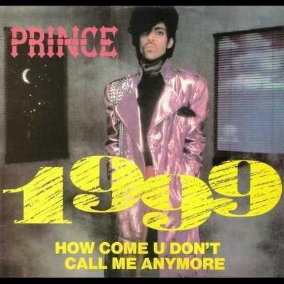 """Prince 1999 + Poster 12"""""""" Single"""