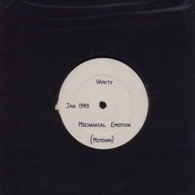 "Vanity Mechanical Emotion Promo12"""" Single"