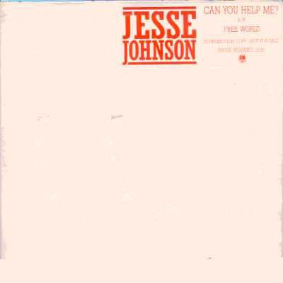 "Jesse Johnson Can You Help Me? Promo12"""" Singl"