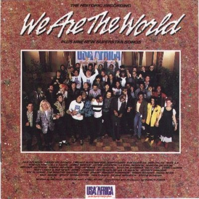 Various We Are The World LP