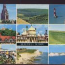 9 Views of  Beautiful Sussex Postcard  D.Constance