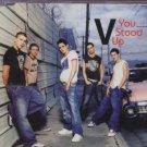 V - You Stood Up - UK Promo  CD Single