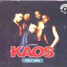 Ultimate Kaos - Right Here - UK CD Single