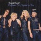 Thunderbugs - It's About Time You Were Mine - UK CD Single