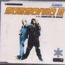 Subsonic 2 - Addicted To Music - UK  Cd Single