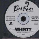 Rahsun The Little God - What? - UK Promo  CD Single