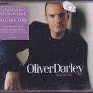 Oliver Darley - Rescue Me - UK Promo  CD Single