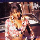 Michelle Gayle - Happy Just to Be With You - UK  CD Single