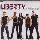 Liberty - Thinking It Over - UK CD Single