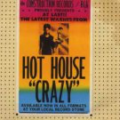 Hot House - Crazy - UK  CD Single