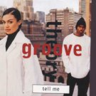 Groove Theory - Tell Me - UK Promo CD Single
