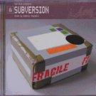 Domenic Cappello - Subversion - UK  CD