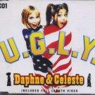 Daphne & Celeste - U.G.L.Y. - UK  CD Single