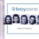 Boyzone - Where We Belong - UK CD