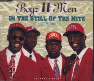 Boyz II Men - In The Still Of The Nite - UK  CD Single
