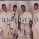 Boyz II Men - I'll Make Love To You - UK Promo CD Single
