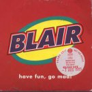 Blair - Have Fun, Go Mad - UK Promo  CD Single