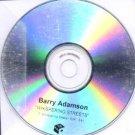 Barry Adamson - Whispering Streets - UK Promo CD Single