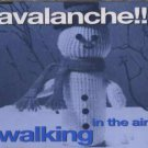 Avalanche!! - Walking In The Air - UK  CD Single
