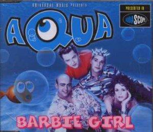 Aqua - Barbie Girl - UK  CD Single