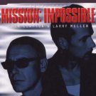 Adam Clayton & Larry Mullen - Mission Impossible - UK  CD Single