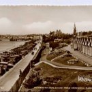 Weymouth Esplanade From Greenhill Gardens  Postcard SUNRAY Series  RP