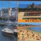 Weymouth Dorset Postcard Salmon - 3 Views