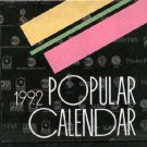 Various - Calendar 1992 - Japan Promo  Calendar -   ex