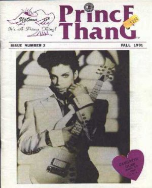 Prince - Prince Thang Issue 3 Fall 1991 - USA   Fanzine -   m