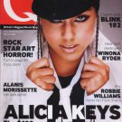 Alicia Keys, Alanis Morrisette, Robbie Williams, Blink 182 - Q Magazine -Februar