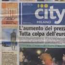 Prince,various - City Milano - Oct 2002 - Italy   Newspaper -   ex
