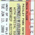 Prince - Ticket - Northrop June 13 2000 - USA   Ticket -   ex