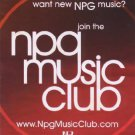 Prince - Flyer - NPG Music Club - USA   Flyer -   m