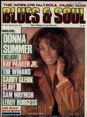 Donna Summer,Ray Parker Jnr,The Winans,Garry Glenn,Slave - Blues & Soul Oct 1987
