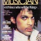 Prince, Lou Reed, Rod Stewart, Glenn Frey - Musician - October 1984 - USA   Maga