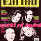 George Michael, Shabba Ranks, Bananarama - Record Mirror - January 5 1991 - UK