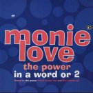 """Monie Love - The Power - In A Word Or 2 - UK   12"""" Single - 12COOLR273 /m"""