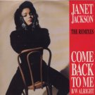 "Janet Jackson - Come Back To Me - The Mixes - UK   12"" Single - USAF681 ex/m"