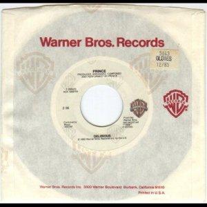 "Prince - Delirious - USA   7"" Single - 7-29503 ex/m"