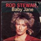 """Rod Stewart - Baby Jane - Germany 7"""" Single - 92-9608-7 vg/ex"""